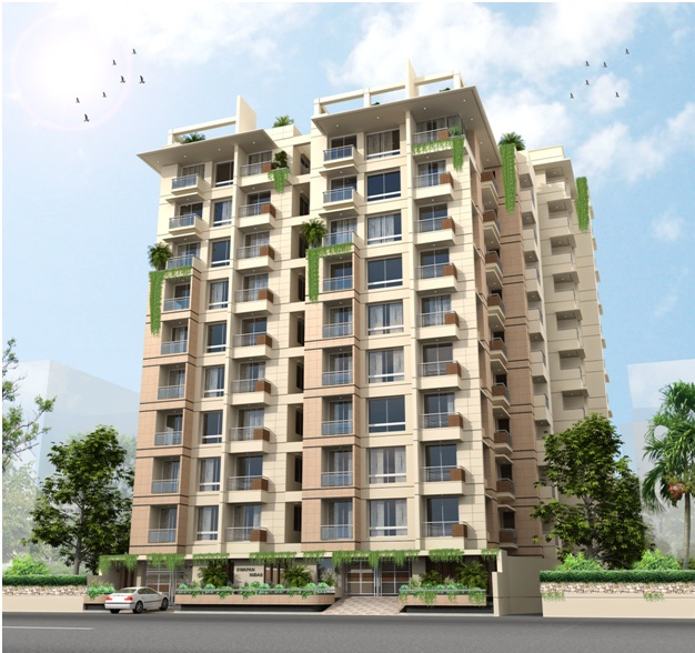 "10-Storied with One Basement Residential Building ""Bay Swapan Nibas"""